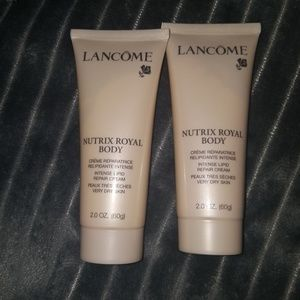 Lancome Nutrix Royal Body cream 2oz lot of 2